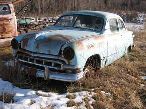 1951 Meteor two door car for sale