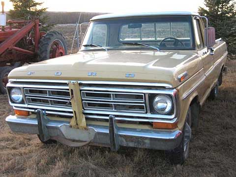 1972 ford explorer 1 2 ton pickup truck for sale. Black Bedroom Furniture Sets. Home Design Ideas